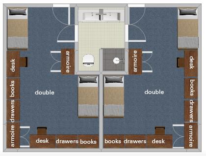 Junior Suite Style | Office of University Housing
